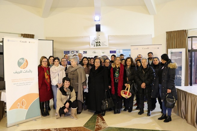25 members & representatives of various women cooperatives and groups attended the meeting