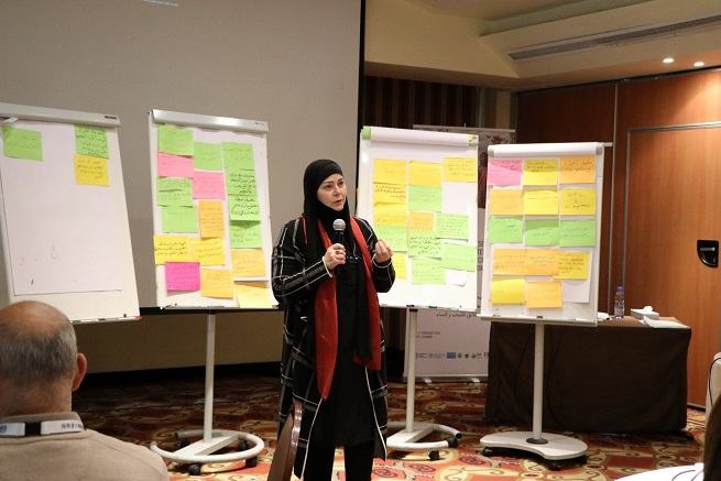 Participants learnt how to overcome existing barriers to the participation