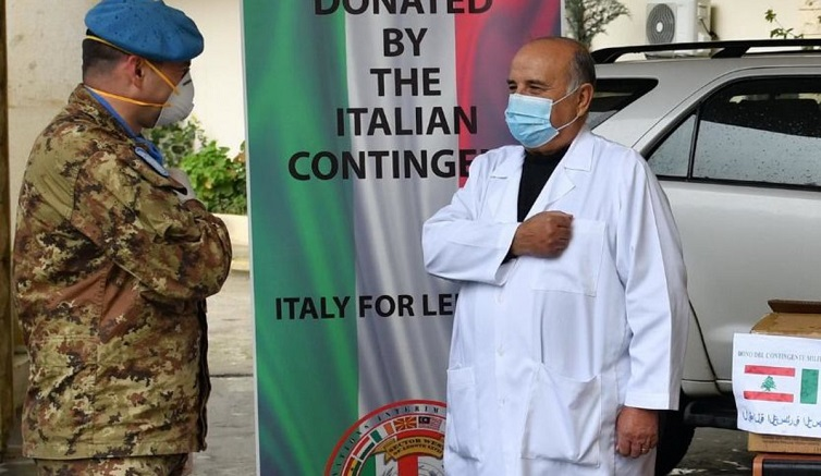 UNIFIL support has spanned both material supplies and know-how