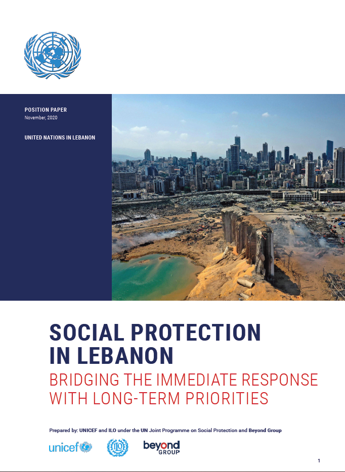 Social Protection in Lebanon (UN position paper)