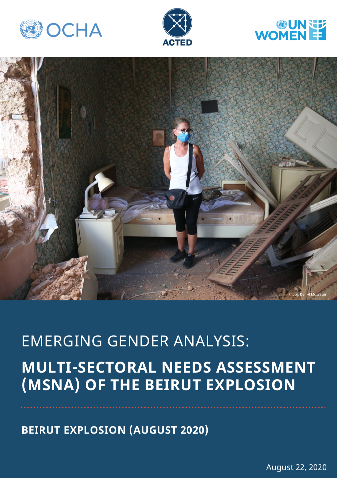 Emerging Gender Analysis: Multi-Sectoral Needs Assessment (Beirut Explosion)