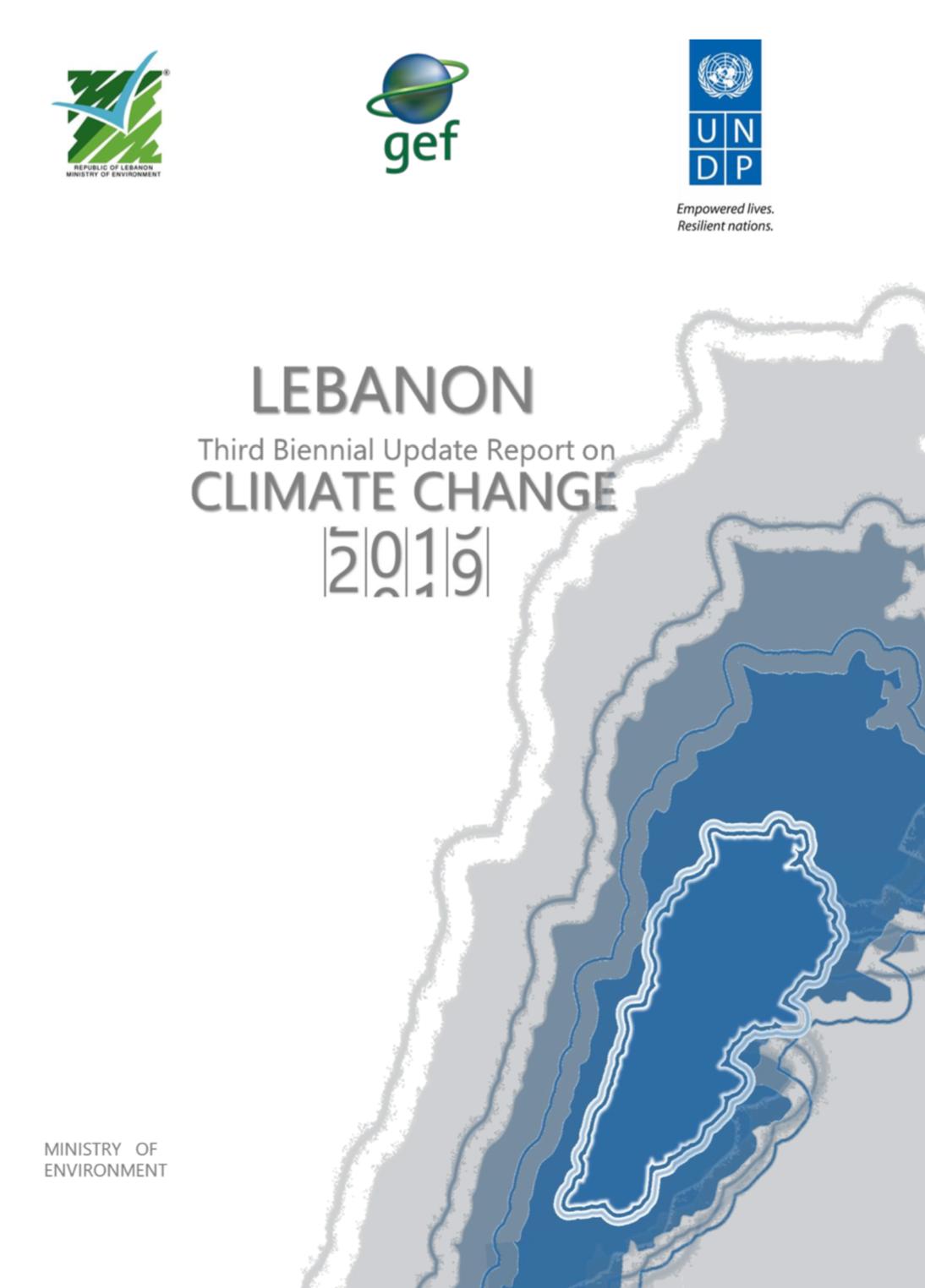 Lebanon's Third Biennial Update Report (BUR) to the UNFCCC