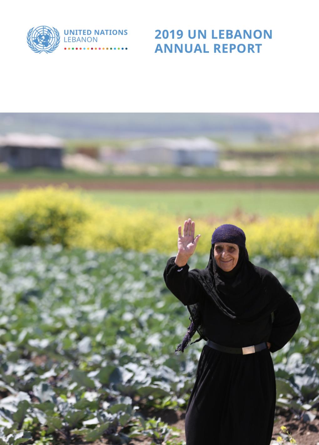 2019 UN Lebanon Annual Report