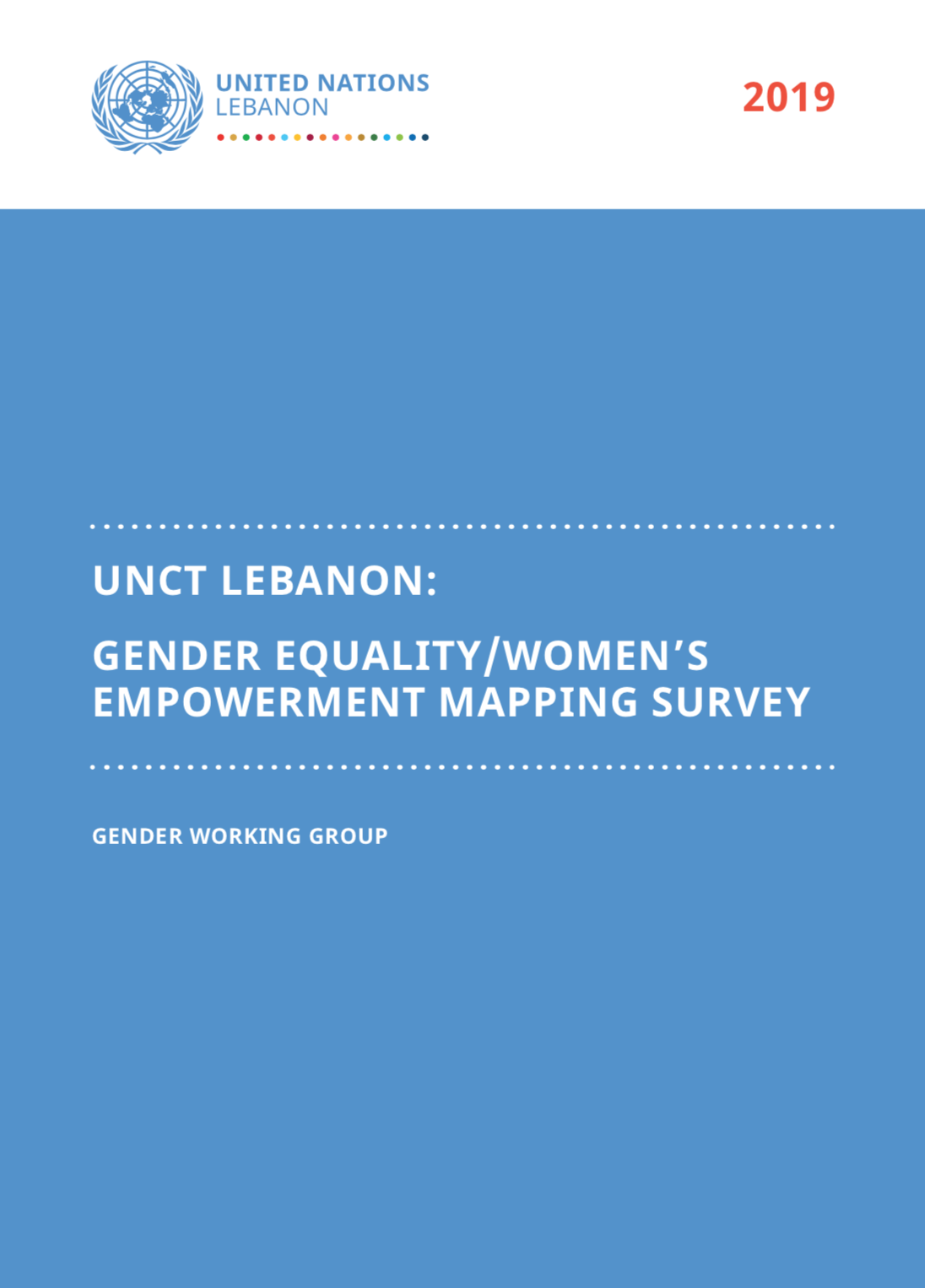 Gender Equality / Women's Empowerment Mapping Survey