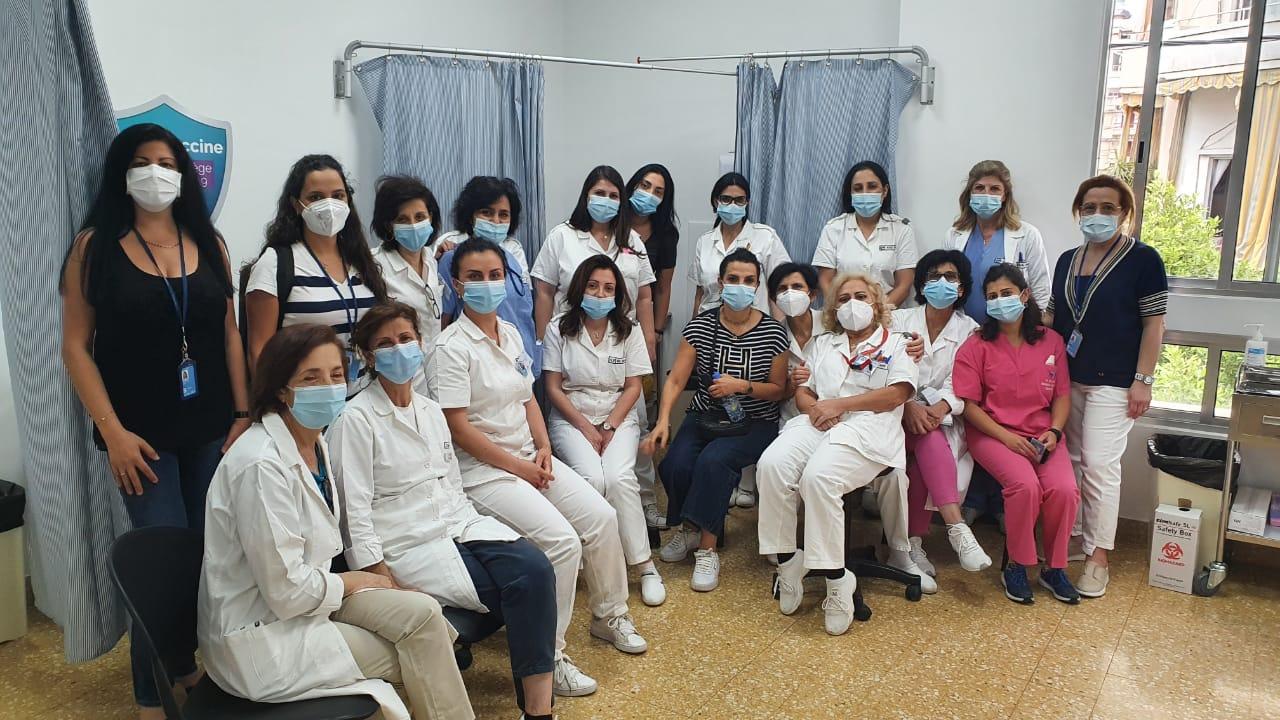 الأمم المتحدة في لبنان تطلق برنامج لتلقيح الموظّفين وعائلاتهم في لبنان
