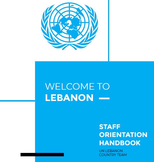 Staff Orientation Handbook: Welcome to Lebanon