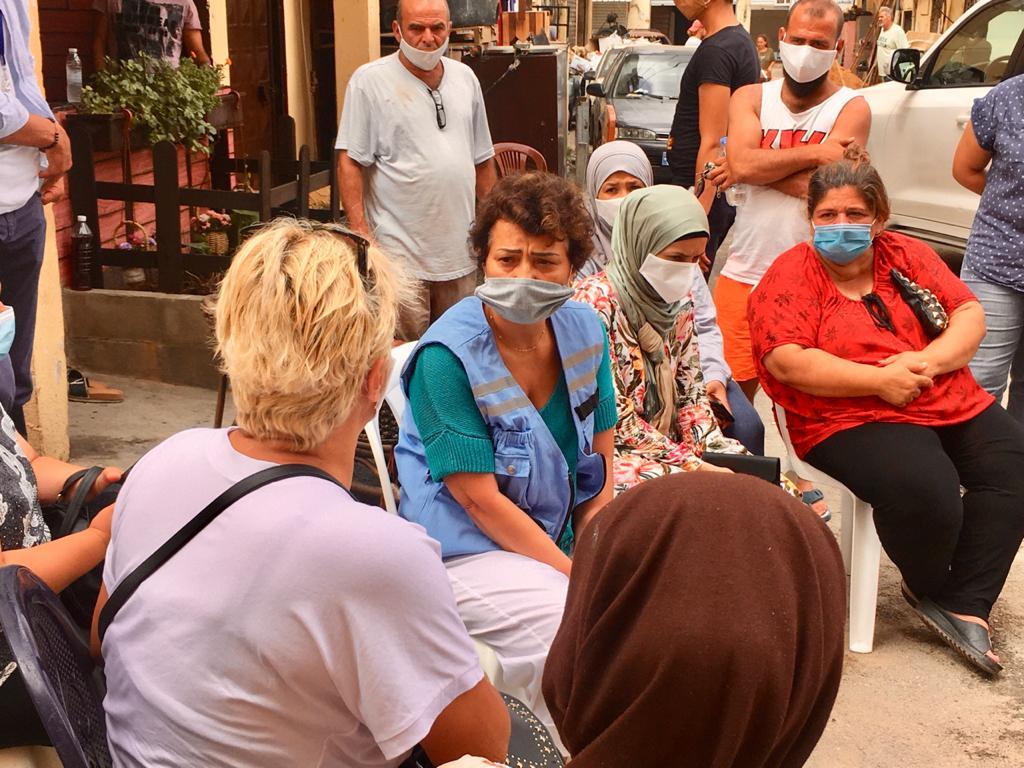 نجاة رشدي: رغم مرور عام على انفجاري مرفأ بيروت، ما زالت التداعيات تلقي بثقلها على لبنان
