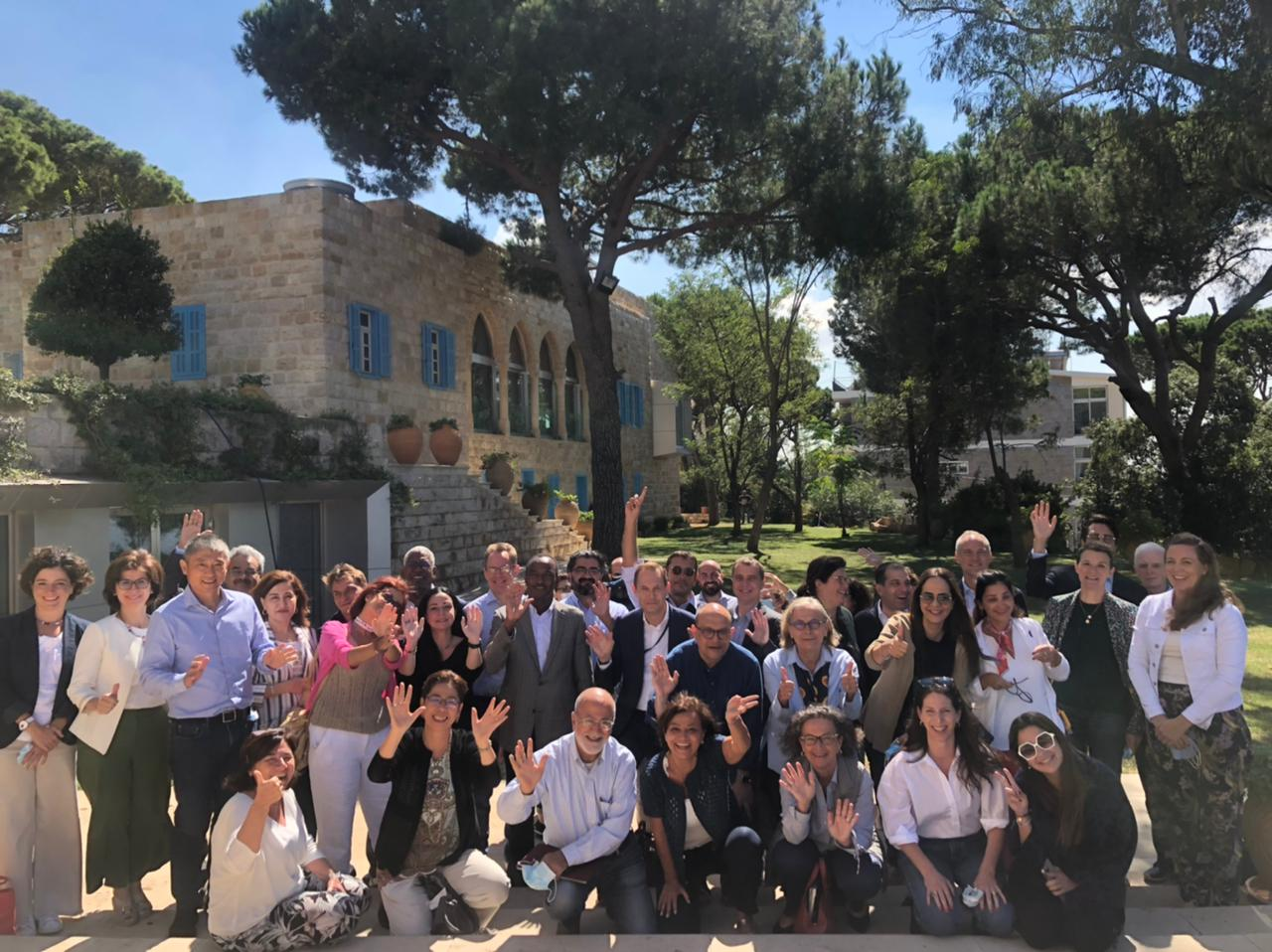 UN Country Team's retreat explores how to Build Forward Better Lebanon