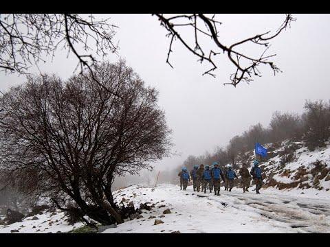 جنود حفظ السلام التابعين لليونيفيل يؤدون واجباتهم في أي مكان وخلال أي طقس