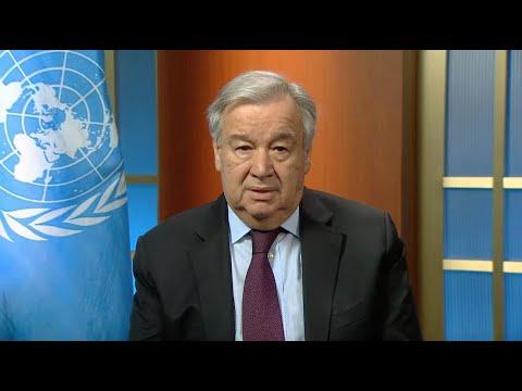 Women and COVID-19 - UN Chief Video Message (9 April 2020)