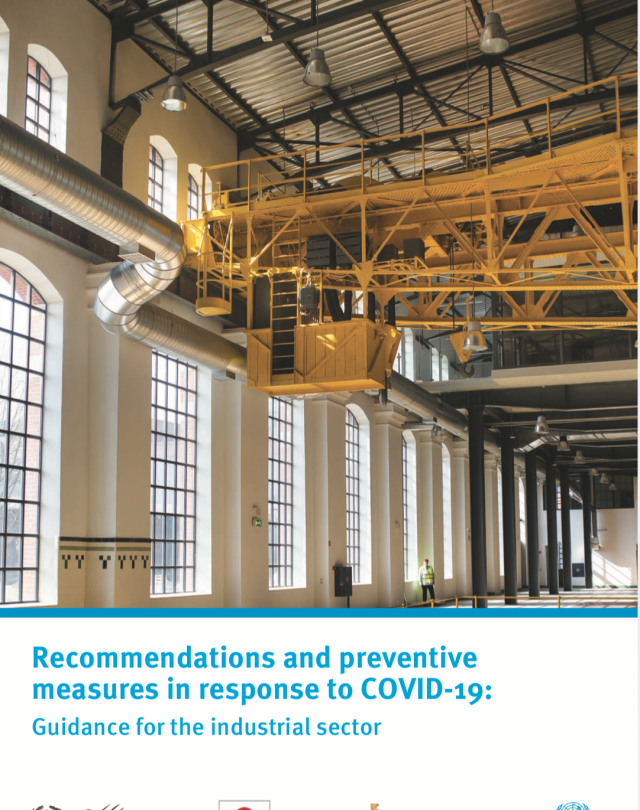 Recommendations and preventive measures in response to COVID-19: Guidance for the industrial sector